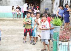 Children in Matinao, Philippines, during the school break.<div class='url' style='display:none;'>/en/</div><div class='dom' style='display:none;'>kirchgemeinde.ch/</div><div class='aid' style='display:none;'>404</div><div class='bid' style='display:none;'>11554</div><div class='usr' style='display:none;'>235</div>